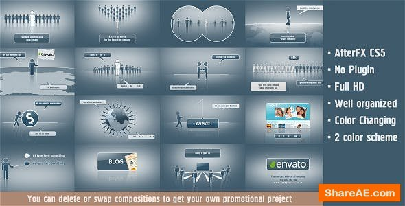 Videohive Scenes for Promotion