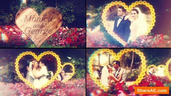 Videohive Wedding Garden