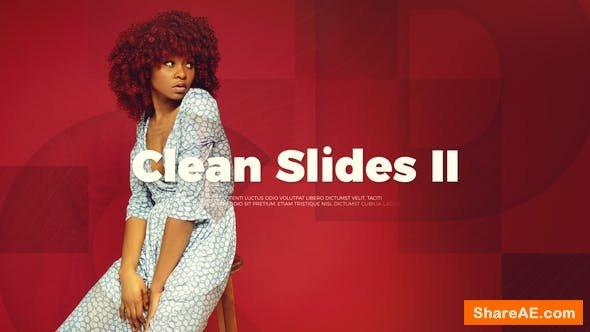 Videohive Upbeat Clean Slides II