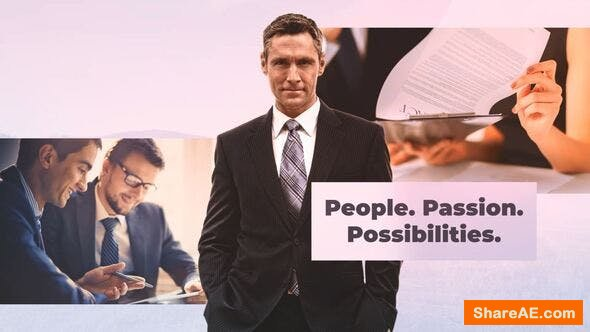 Videohive Finance Consultant - Business Team Leader
