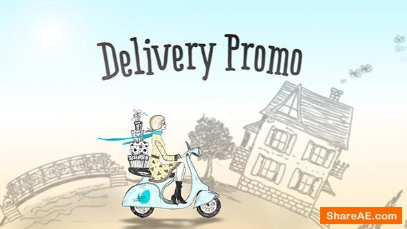 Videohive Delivery Promo   After Effects Template