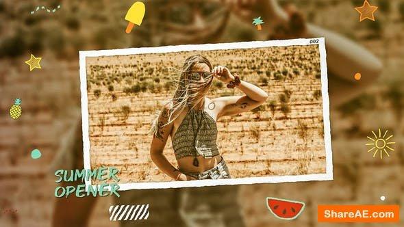 Videohive Summer Opener 23954092