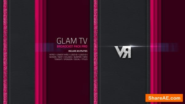 Videohive Glam TV - Broadcast Pack Pro