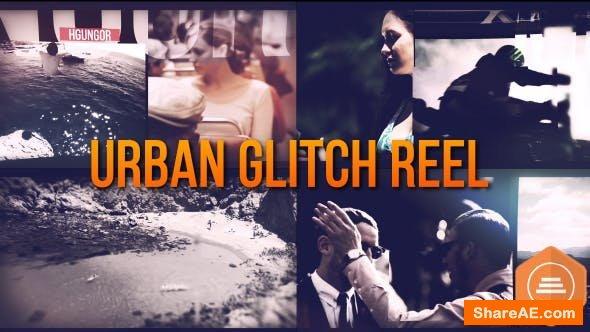 Videohive Urban Glitch Reel