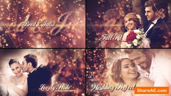 Videohive Lovely Wedding Slideshow