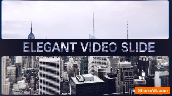 Videohive Elegant Video Slide