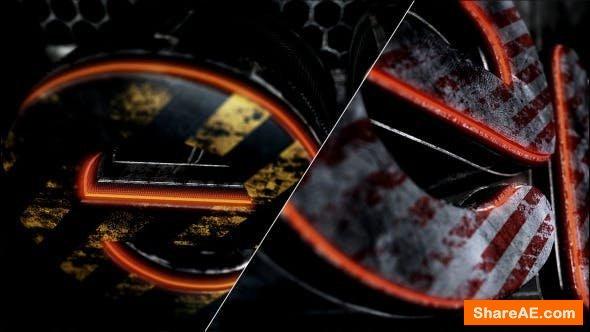 Videohive Metalic Logo Reveal