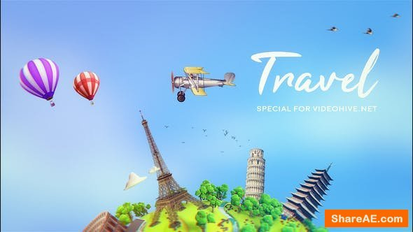 Videohive Travel | After Effects Template