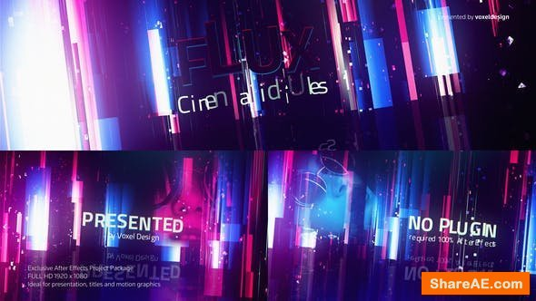Videohive FLUX Cinematic Titles