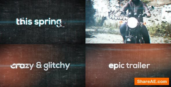 Videohive Epic Trailer Titles 15814714