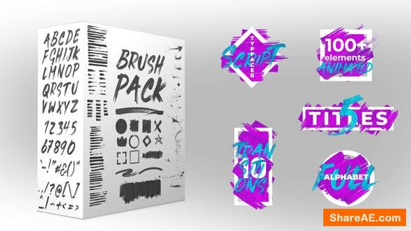 Videohive Brush Pack