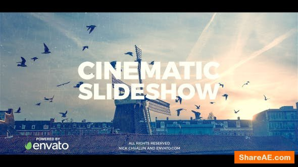 Videohive Cinematic Slideshow 20789588