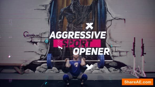 Videohive Aggressive Sport Opener 20741565