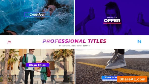Videohive Titles 23673746