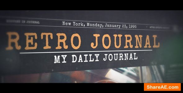 Videohive History in Journal
