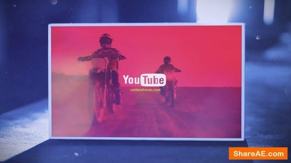 Videohive Box Logo Opener