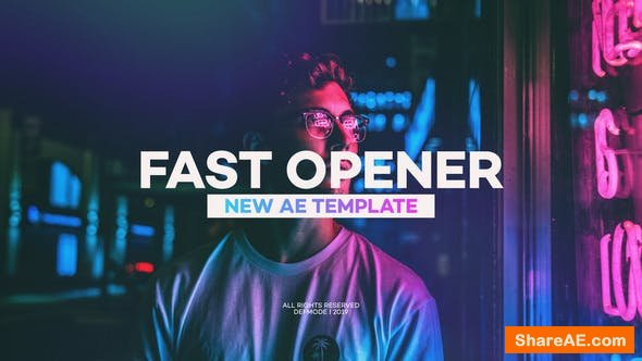 Videohive Fast Opener 23165325