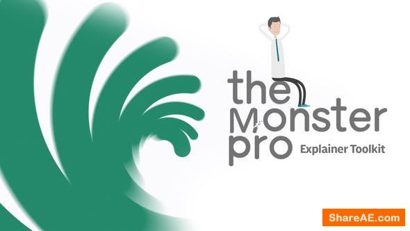 Videohive The Monster Pro | Explainer Toolkit