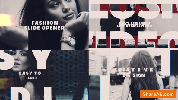 Videohive Fashion Slide Opener