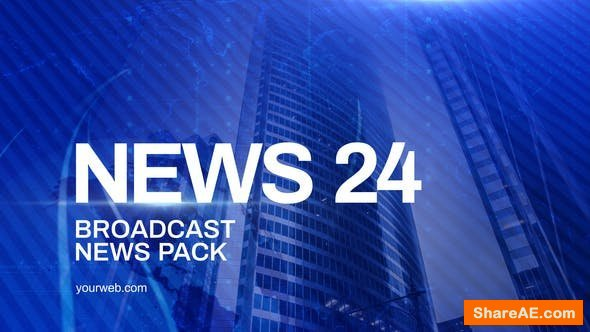 Videohive News Channel Pack