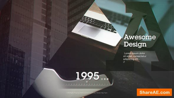 Videohive Corporate Timeline 23308246