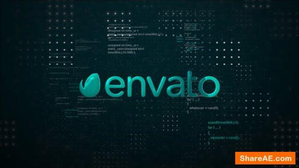 Videohive Digital Space Logo Reveal