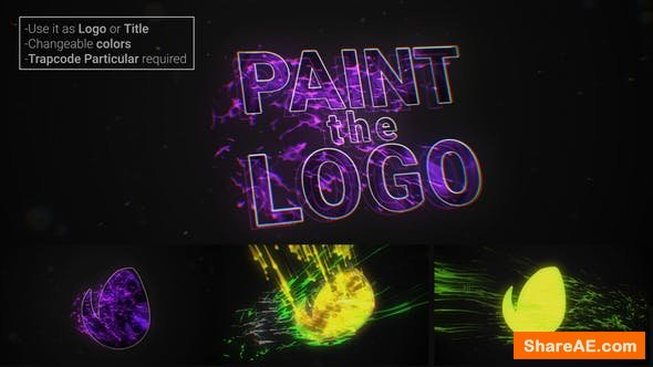 Videohive Paint The Logo