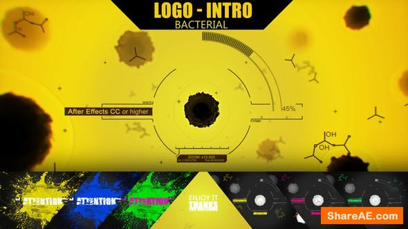 Videohive Bacterial Intro