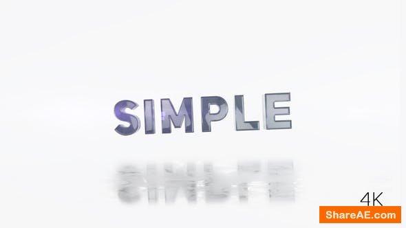 Videohive Clean Typo Logo