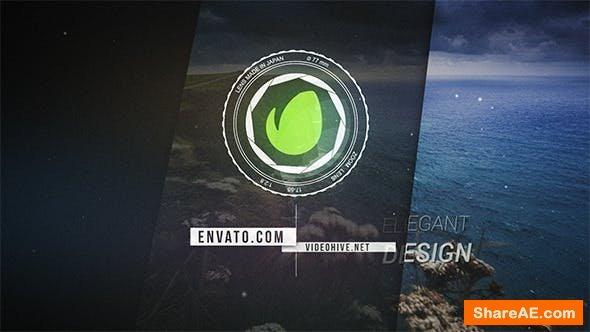 Videohive Lens Logo Reveal