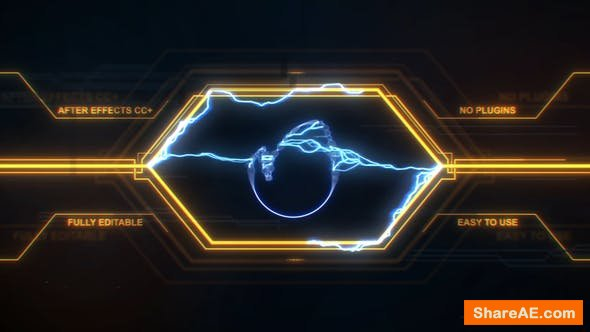 Videohive Lightnings Intro