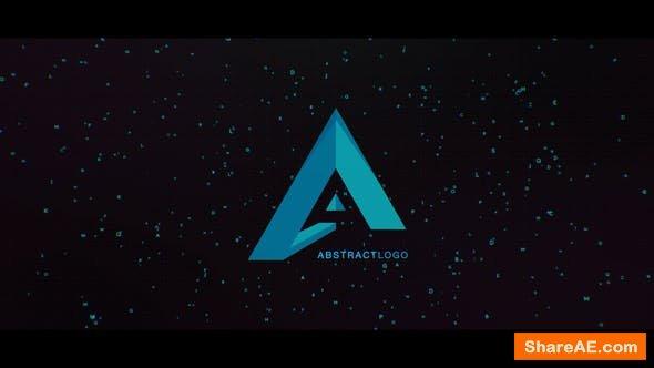 Videohive Digital Particles Logo 22569809