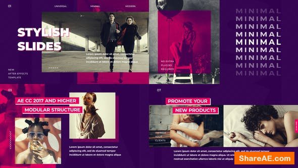 Videohive Stylish Slides