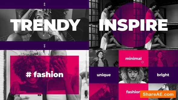 Videohive Trendy Dynamic Intro