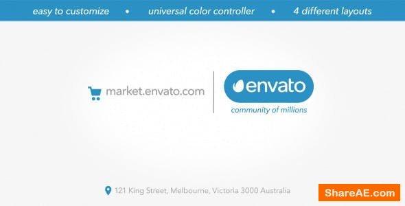Videohive Minimal Marketplace Logo