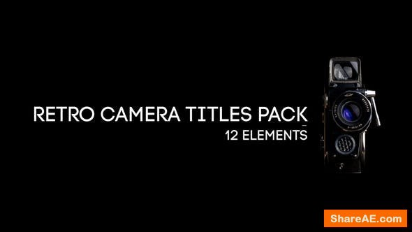 Videohive Retro Camera Titles Pack