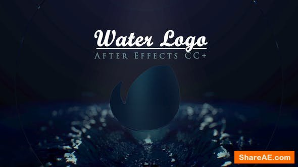 Videohive Water Logo Reveal 21866934