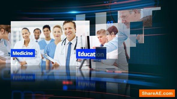 Videohive Science & Medicine Opener