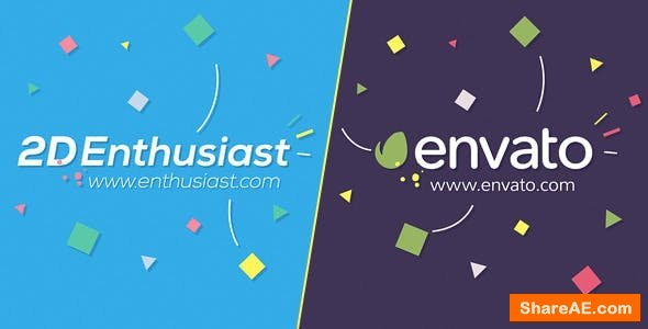 Videohive 2D Enthusiast Logo