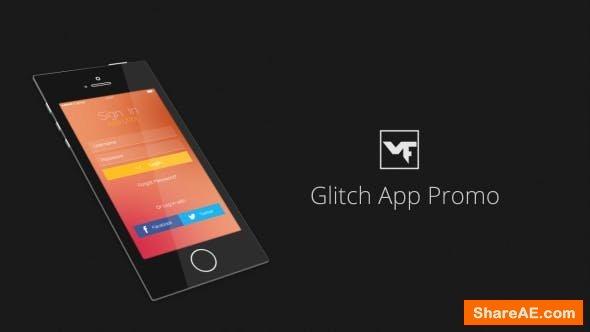 Videohive Glitch App Promo 13679605