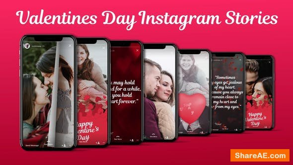 Videohive Love Instagram Stories