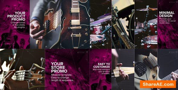 Videohive Upbeat Store or Product Promo