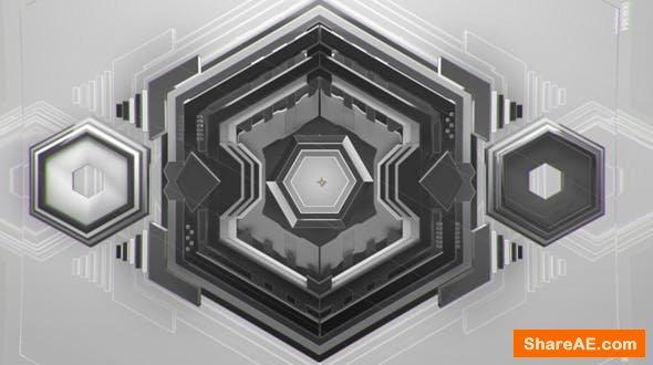 Videohive Hexagon Intro