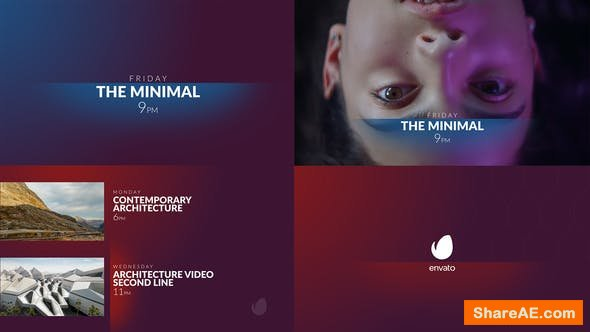 Videohive The Minimal Broadcast Package
