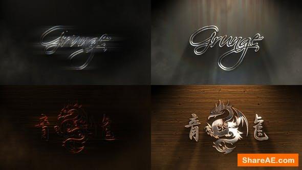 Videohive Grunge Metal Logo