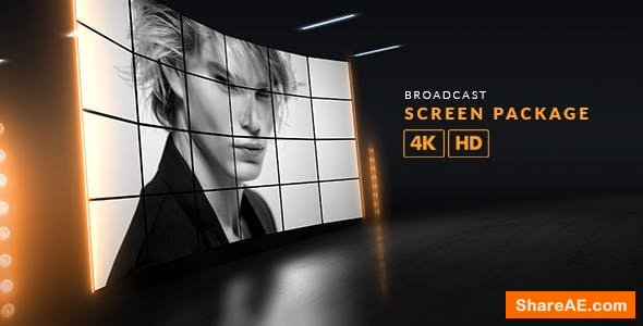 Videohive Broadcast Screen Package