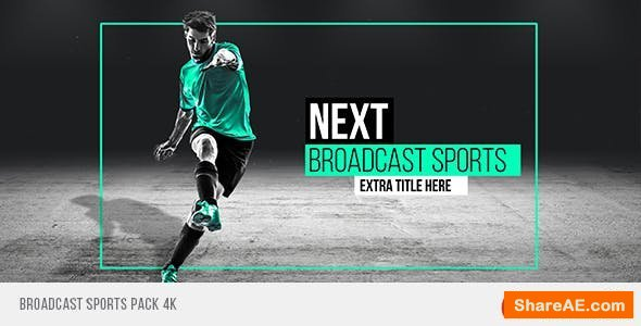 Videohive Broadcast Sports Pack