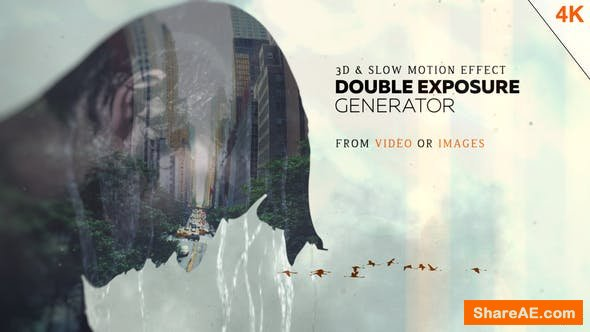 Videohive Double Exposure Generator V4 - After Effects Templates