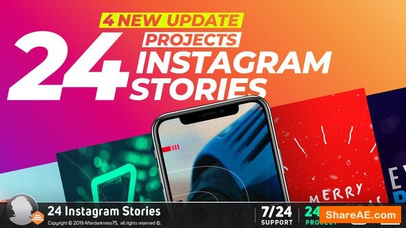 Videohive Instagram Stories V4 22798802