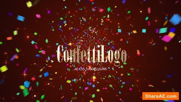 Videohive Confetti Logo 22961011